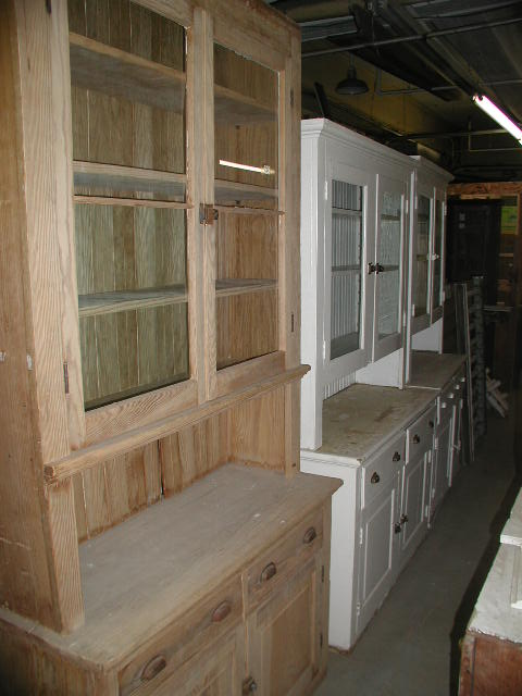 Architectural Salvaged Kitchen Cabinets